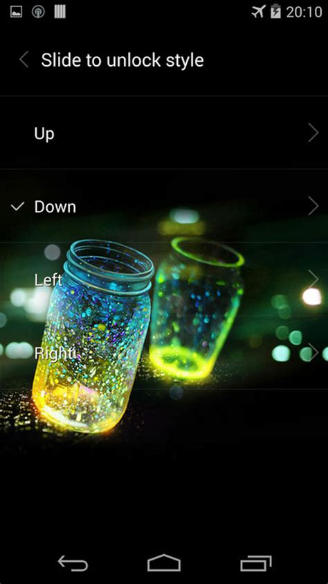 live home themes for android fireflies lockscreen free android theme download appraw