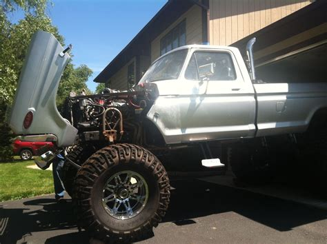 ford  monster truck  extras brand  parts