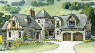 Storybook Cottages Floor Plans english tudor house plans southern living house plans
