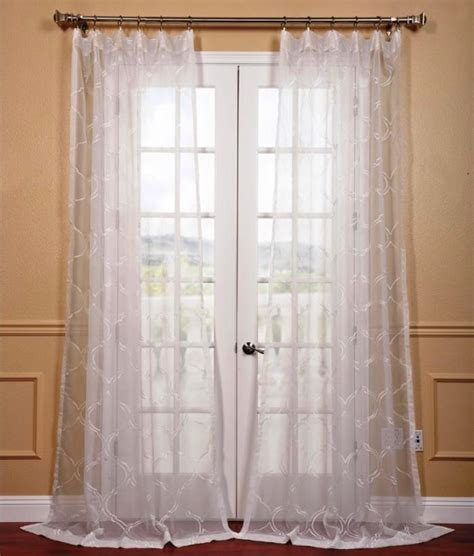 sheer curtain ideas 15 delightful sheer curtain designs for the living room