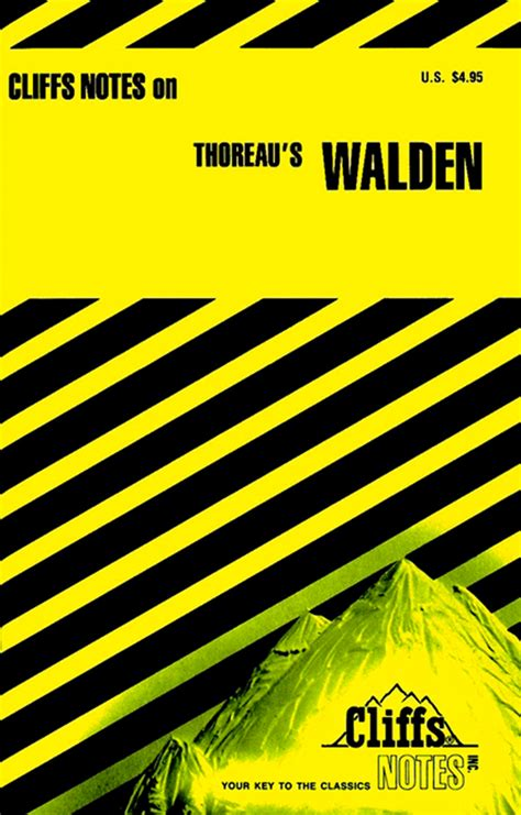 Cliffsnotes On Thoreau S Walden