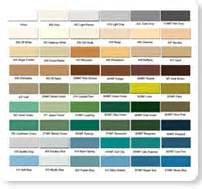 seal krete color chart images