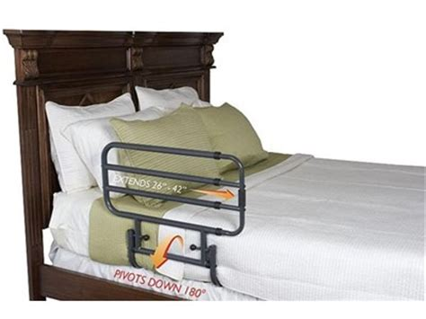 stander bed rail stander ez adjust bed rail elderluxe