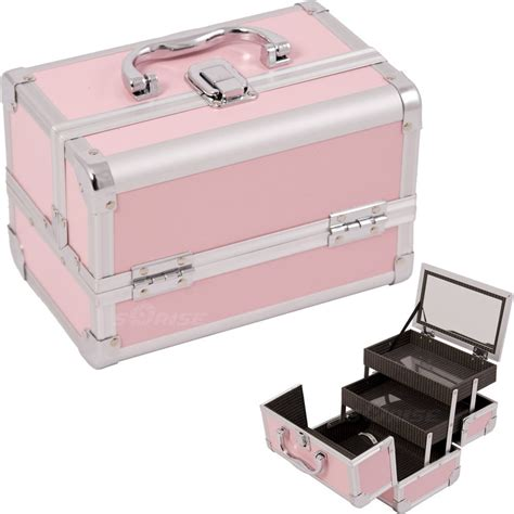 Makeup Cases With Mirrors From Asos by Makeup Cosmetic Organizer W Mirror 3 Trays