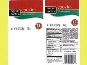 Market Pantry Recall by A Product Recall For Market Pantry Snickerdoodles Cookies Grocery