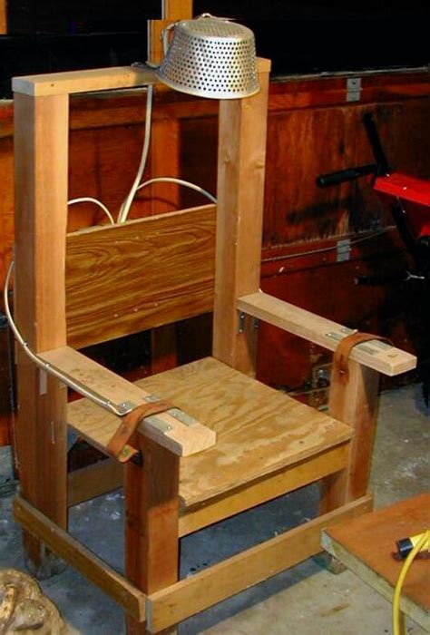 How To Make Electric Chair by Prop A Electric Chair