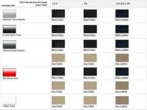 honda color codes 2012 honda accord coupe colors onsurga