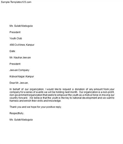 Appeal Letter For Donation Template Donation Appeal Letter Related Keywords Suggestions