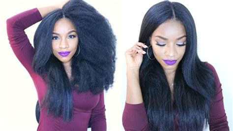 crochet natural hair styles salons in dc metro area how to do natural looking invisible part crochet braids