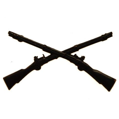 Military Home Decor by Infantry Cross Rifles Clip Art Quotes