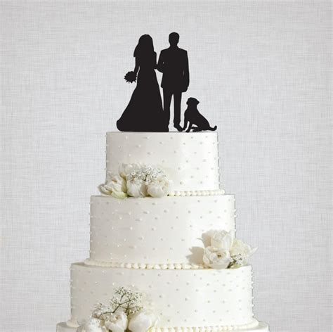 Topper Siluet Wedding Acrilik wedding silhouette with acrylic cake topper 24 breeds to choose from 2420331