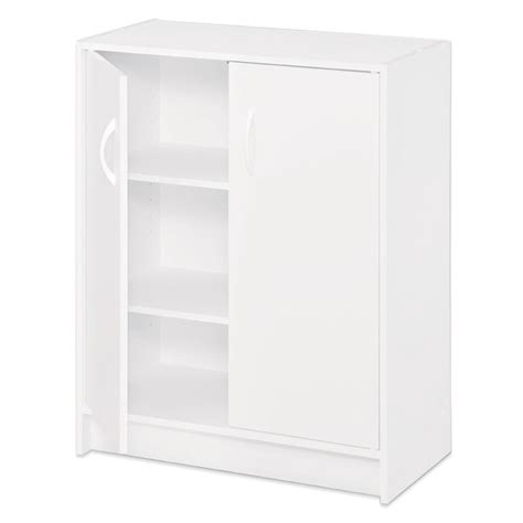 Closetmaid Laminate Storage Shop Closetmaid 24 1 In White Laminate Stacking Storage At