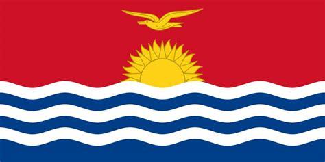 kiribati flag coloring country flags