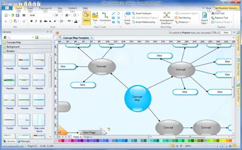 membuat mind map dengan edraw edraw mind map 7 9 free download freewarefiles com
