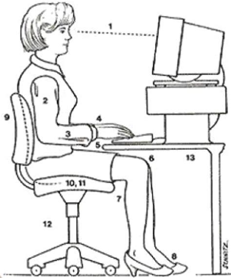 taille d un bureau ergonomie du poste de travail par arbet am 233 nagement