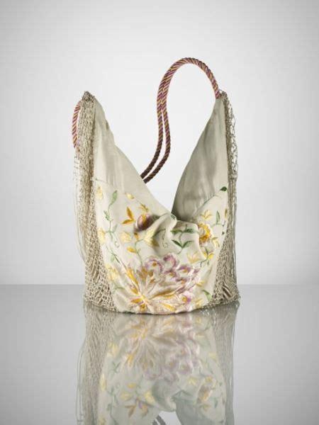 ralph lauren embroidered silk fringe hobo  beige multi