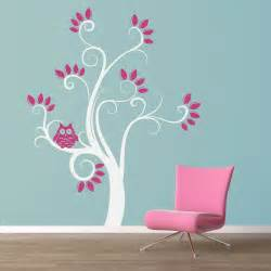 Owl Tree Wall Sticker Owl Tree Wall Decal Quotes