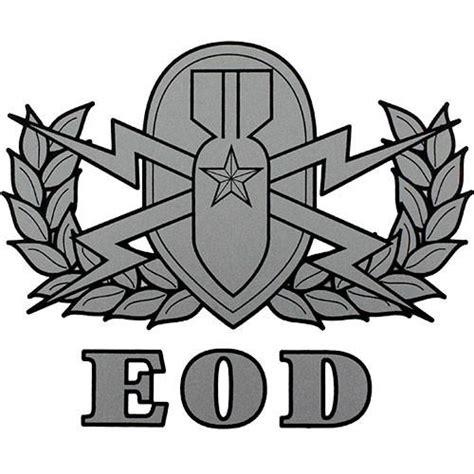 Us Army Explosive Ordnance Disposal Eod Cutting Sticker explosive ordnance disposal clear decal usamm