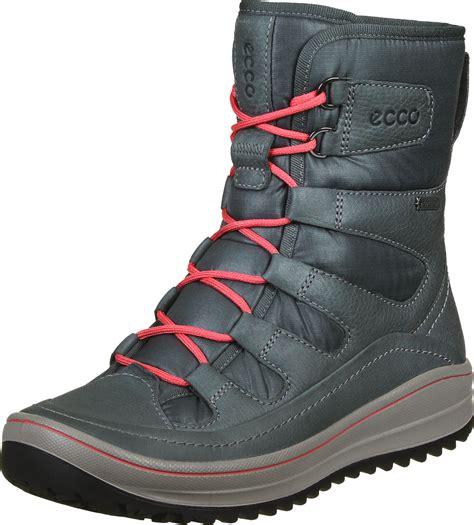 ecco winter boots ecco trace w winter boots blue grey
