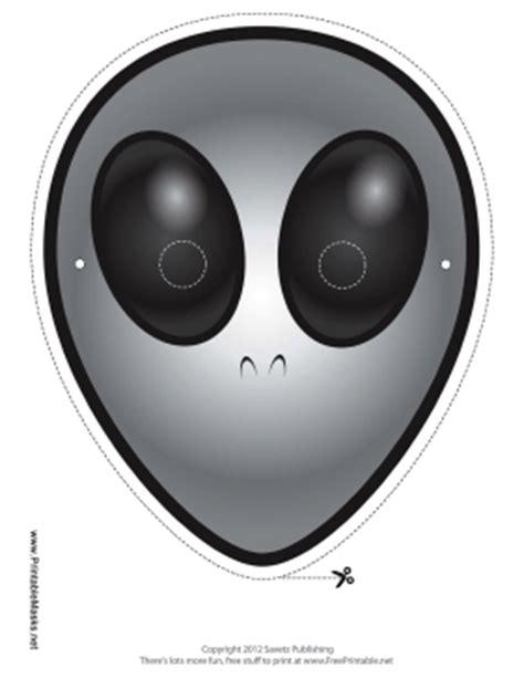 printable alien mask printable alien mask mask