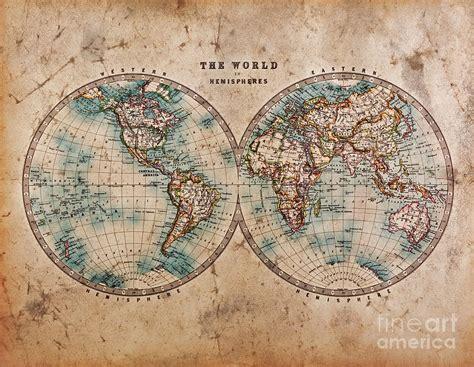 free printable world map vintage 8 best images of old world maps printable free free