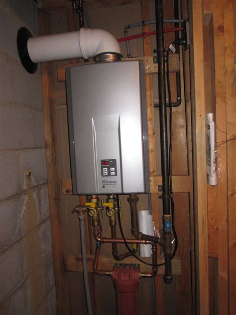 beneficial tankless water heater installation that save for environment homesfeed