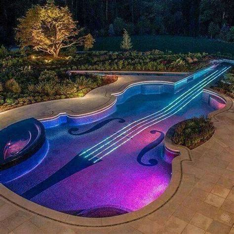 guitar pool photos pinterest