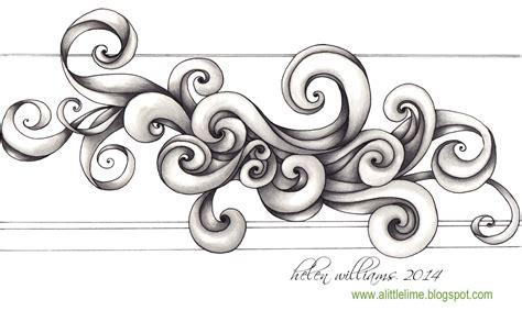how to draw doodle swirls swirls