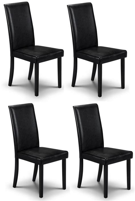 Dining Room Chairs Set Of 4 by Abdabs Furniture Hudson Black Dining Chairs Set Of Four