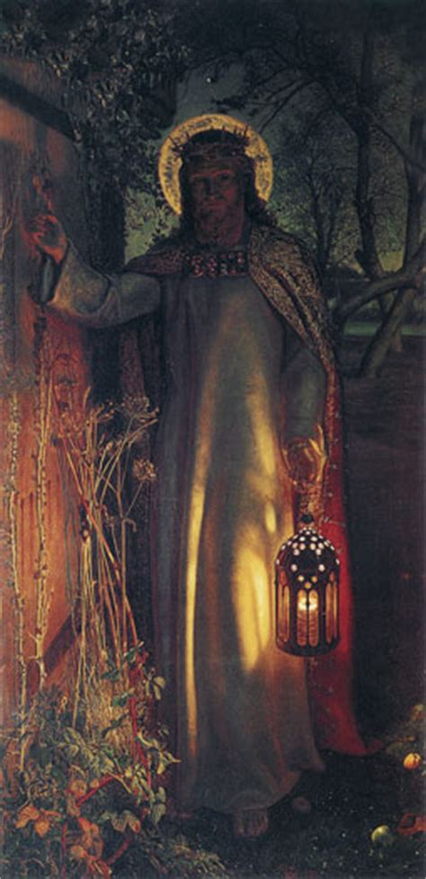 The Light Of by The Light Of The World William Holman Hunt