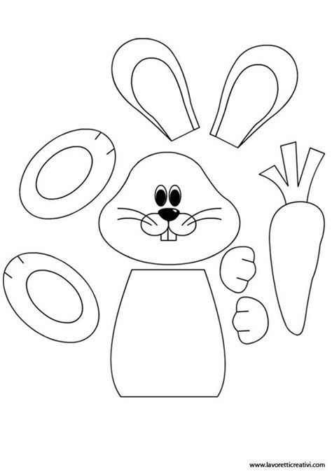 easter bunny craft template 164 best images about paper craft patterns templates on