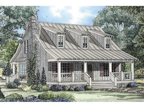 Mountain Cottage Plans by Edelen Cabin Cottage Home Plan 055d 0064 House Plans And