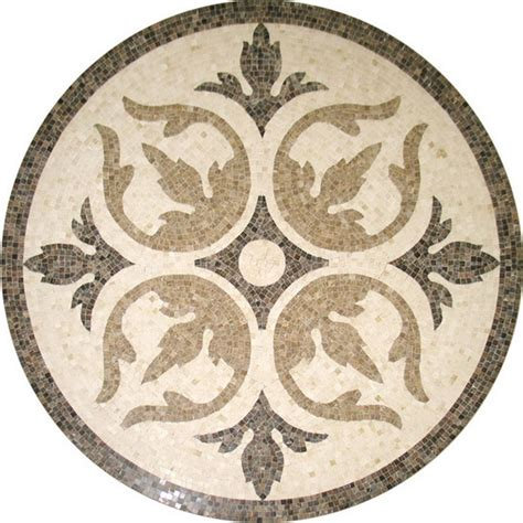 tile pattern round marble tile round mosaic medallion floor pattern entry