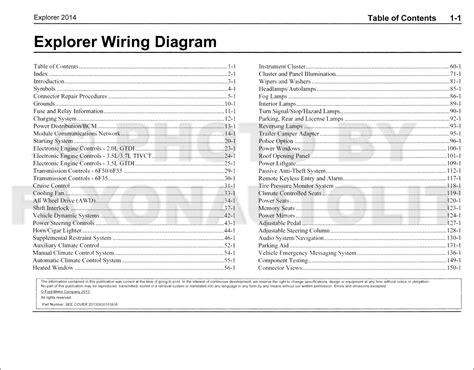 2014 explorer wiring diagram 28 wiring diagram images