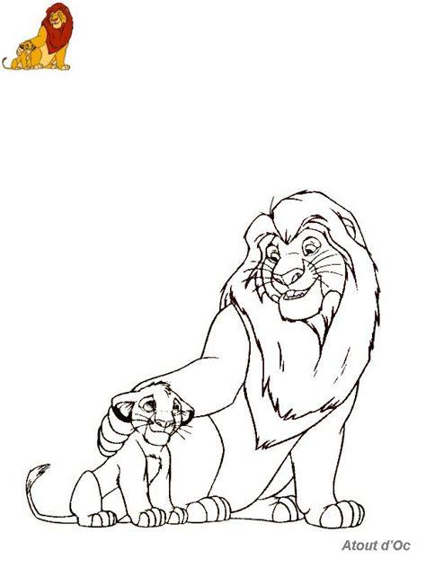 Dessin Coloriage Le Roi Lion L L L L L L L L L L