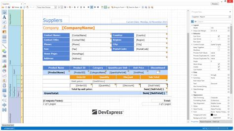 xaml table layout what s new in 2015 vol 1 devexpress