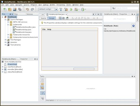 how to create swing project in netbeans java gui hola mundo en swing con netbeans picando c 243 digo