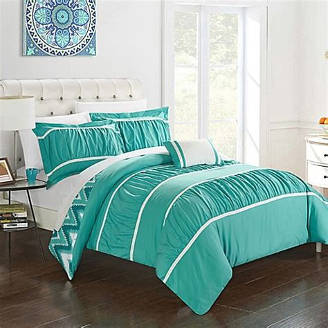 lucia 4 piece comforter set buy chic home lucia 4 piece reversible full queen