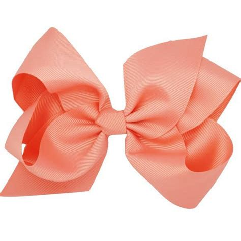 Bows Are Big by Jaya Coral Big Bow Clip Beautiful Hair Accessories