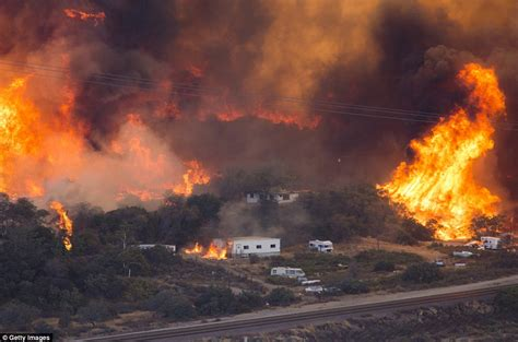 The On Socal Fires by California Wildfire Has A Ferocity Never Seen Before By