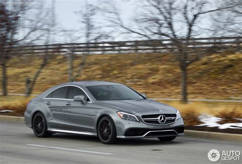 Mercedes Benz CLS 63 AMG S C218 2015 18 December 2014 Autogespot