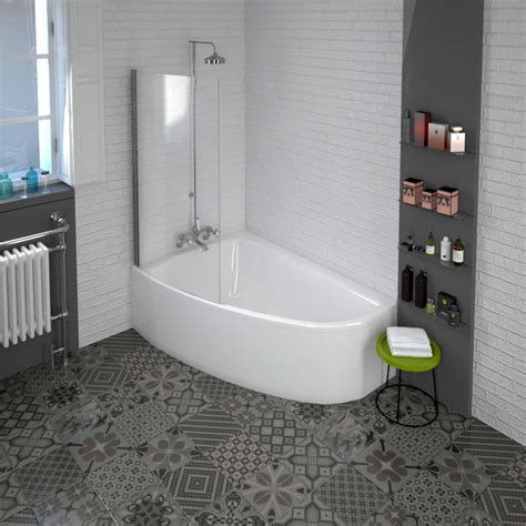 Corner Baths With Shower Screens corner baths with shower screens home design inspirations
