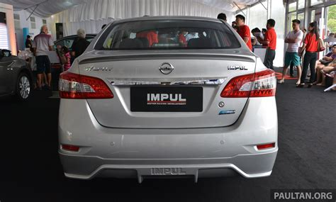 nissan sylphy impul nissan sylphy tuned by impul introduced aerokit bigger