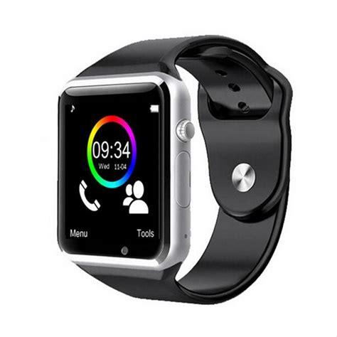 Smart Gw05 Jam Tangan Smartwatch A1 Alpha Android Bla china direct sport a1 bluetooth smartwatch wrist