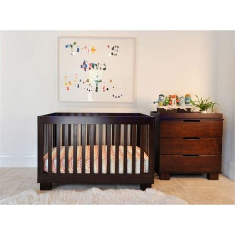 Babyletto Modo 3 In 1 Convertible Crib With Toddler Rail Babyletto Modo 3 In 1 Convertible Wood Crib Set In Espresso M6701q M6723q Pkg