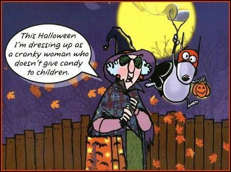 halloween im dressing    cranky woman pictures   images  facebook