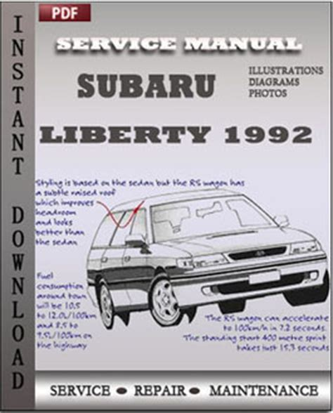 service manual free service manuals online 1992 chevrolet g series g30 windshield wipe control subaru liberty 1992 free download pdf repair service manual pdf
