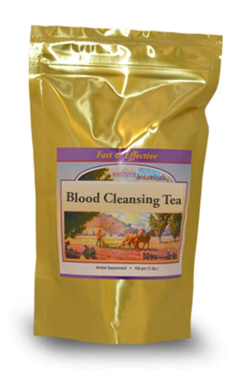 Best Blood Detox Tea by Western Botanicals Help Blood Circulation Blood Detox Formula