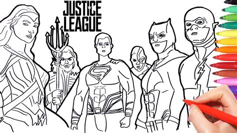 color of justice lego justice league coloring pages 7 o for page coloring