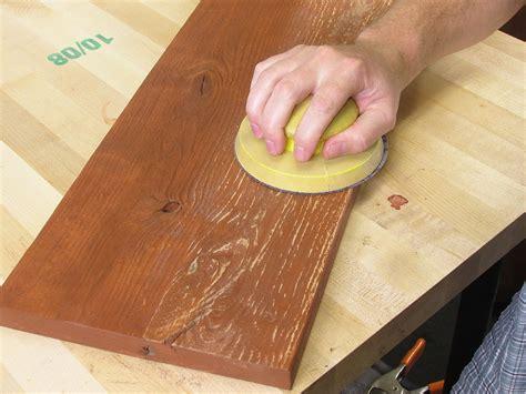 sanding woodwork 6 rustic reclaimed weathered distressed alder wood